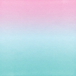 Summer Day - Paper Gradient Pink Teal