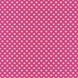 Raindrops & Rainbows - Paper Hearts Pink Dark