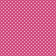 Raindrops & Rainbows - Paper Hearts Pink Dark - UnTextured