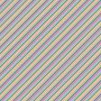 The Good Life: June - Paper Stripes Multi - UnTextured