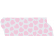 Crazy In Love - Tape Hearts Pink - UnTextured