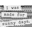 Sparkling Summer - Snippets Sunny - UnTextured