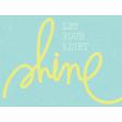 Dream Big - Journal Card-Shine