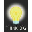 Dream Big - Journal Card - Think Big