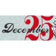 Winter Wonderland Christmas - Tag Dec. 25