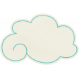Love At First Sight - Sticker Cloud Turquoise
