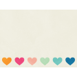 Love At First Sight - Journal Card Heart - Landscape