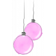 Pink Watercolour Baubles