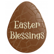 Easter Egg Chocolate Easter Blessings