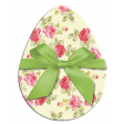 Easter Egg Floral with Green Bow