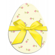 Easter Egg Floral with Yellow Bow