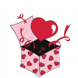 Pink Box of Hearts