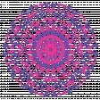 Pink and Purple hand drawn mandala