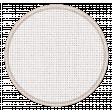 Fabric Round Tag