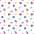 Fruity Background Paper White