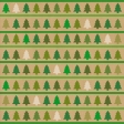 Paper - Christmas trees in green