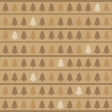 Paper - Christmas trees in brown
