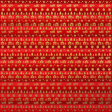 Paper - Christmas kilim in red and gold