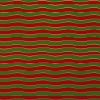Paper - Christmas waves in red and green