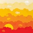 Paper – Cartoon sky (2/4): Sunset or Dawn