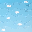 Paper – Cartoon sky (3/4): Day