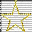 Star – Christmas pearls (9/9)