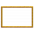 Frame – Christmas 2020 Spirals in yellow-orange