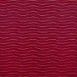 Paper - Christmas waves on red