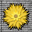 Flower - Yellow fabric
