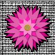 Flower - Pink fabric