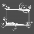 Frame - Snowflakes