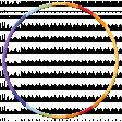 Frame - Rainbow circle