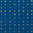 Paper - Valentine in blue