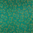 Paper – Vegetal swirls in turquoise and black