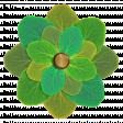 Flower - Green leaves 2