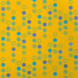 Paper - Dots and spirals on yellow