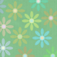 Paper - Colorful flowers on green