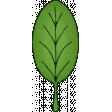 Glitter Leaf 1