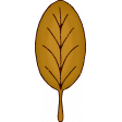 Glitter Leaf 2