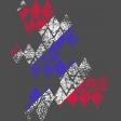 Patriotic Grunge Diamonds