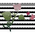 Glitter Butterflies with Flora