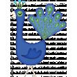 Glitter Peacock