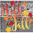Word Art Hello Fall