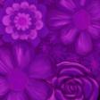 flower paper purple