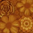 flower paper orange