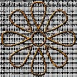 Designer Challenge: Puffy Paint Glitter Doodles, Doodle Flower 01