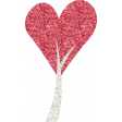 All About Hearts 2017: Glitter Heart Tree 01