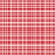 All About Hearts 2017: Paper, Plaid 01, Red