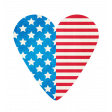 BYB 2016: Independence Day, Heart Sticker 01