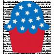 BYB 2016: Independence Day, Patriotic Cupcake 01